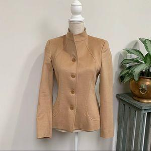 Zanella Angora Wool Blend Shana Jacket